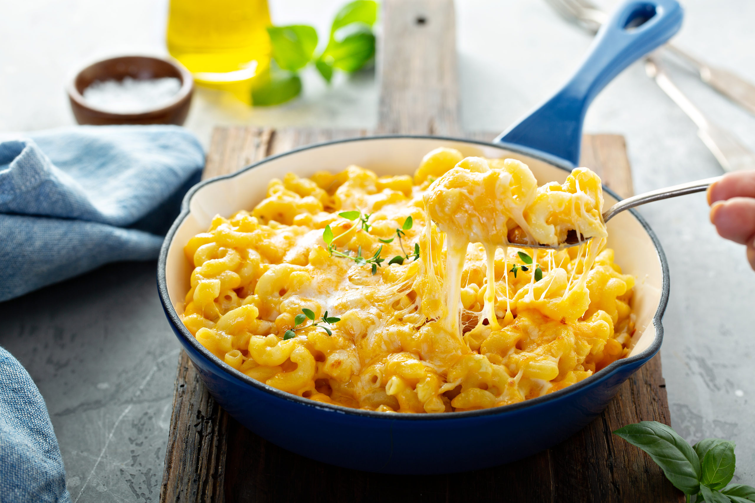 A bowl of mac and cheese from a Hanover restaurant