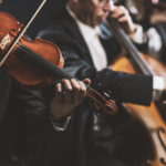 A close up of an orchestra performing in a concert | Baltimore Symphony Orchestra virtual performances